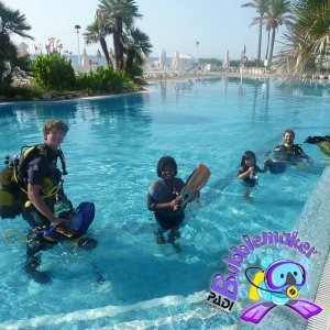 PADI Bubblemaker | Scuba diving for young ones with S'Algar Diving, Menorca