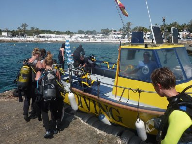 Scuba Diving   S'Algar Diving, Menorca