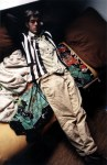 Reference photo was this one, taken of Marc Bell on the baldwin st couch, early to mid 90s.