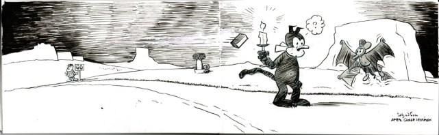 Comics art study - George Herriman