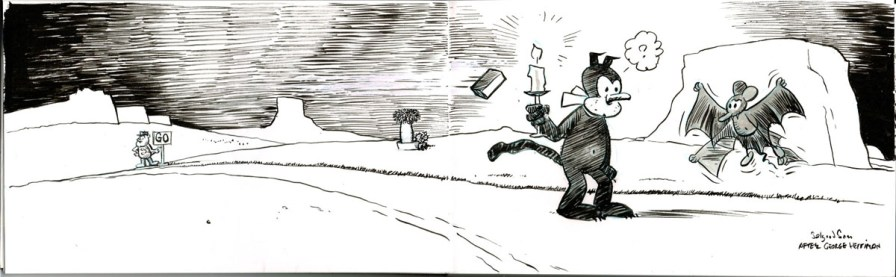 Comics art study - George Herriman