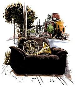 Magazine illustration