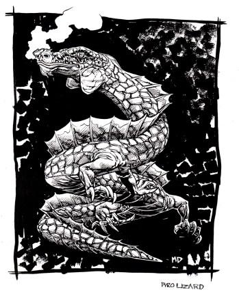 Gaming art - dragon