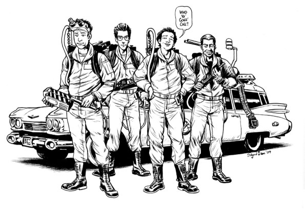 Pitch art - Ghostbusters
