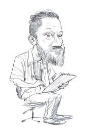 Selfie Caricature sketch!