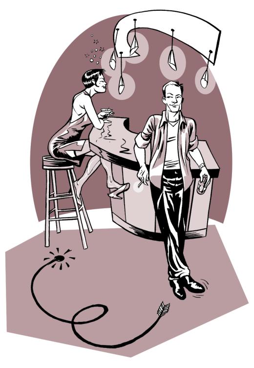illustration - Singles bars