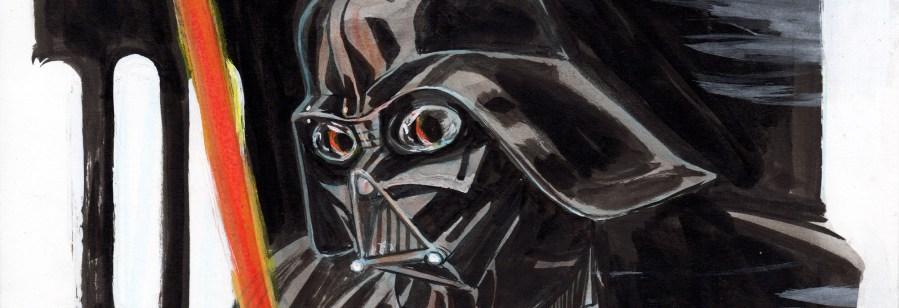 Darth Vader Sketch, my first!