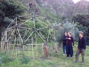 The Geodome, Alvaro, Marina and Zoe
