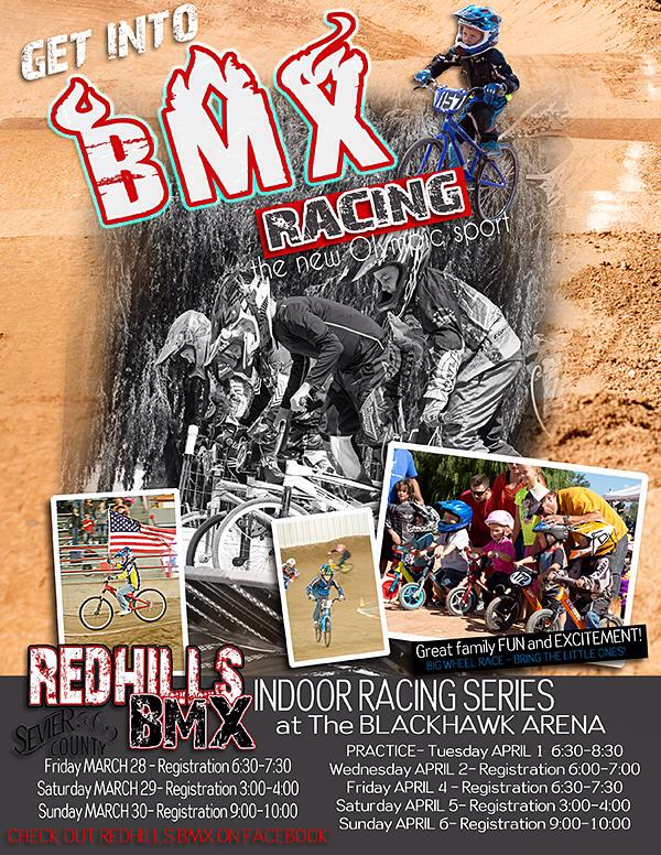 Red Hills BMX Poster