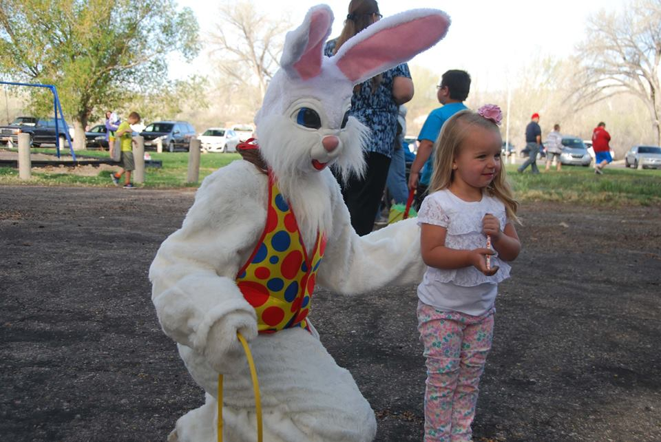 Annual Easter Egg Hunt in Salina Utah