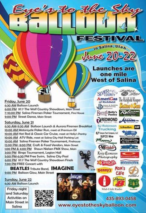 eyes to the sky balloon festival