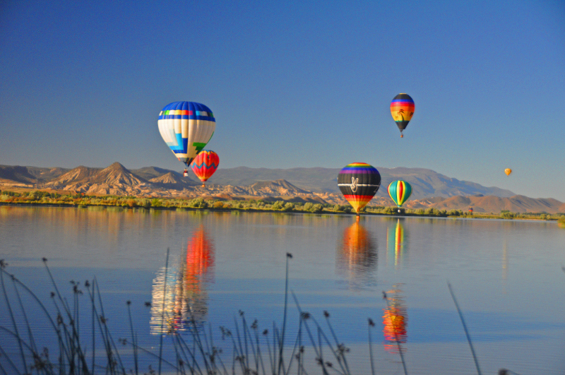 Salina Utah - Eyes to the Sky Balloon Fest 2014