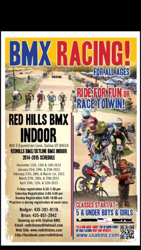 BMX at the Blackhawk 2015 Salina, Utah
