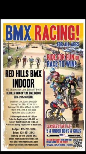BMX at the Blackhawk 2015 Salina, Utah