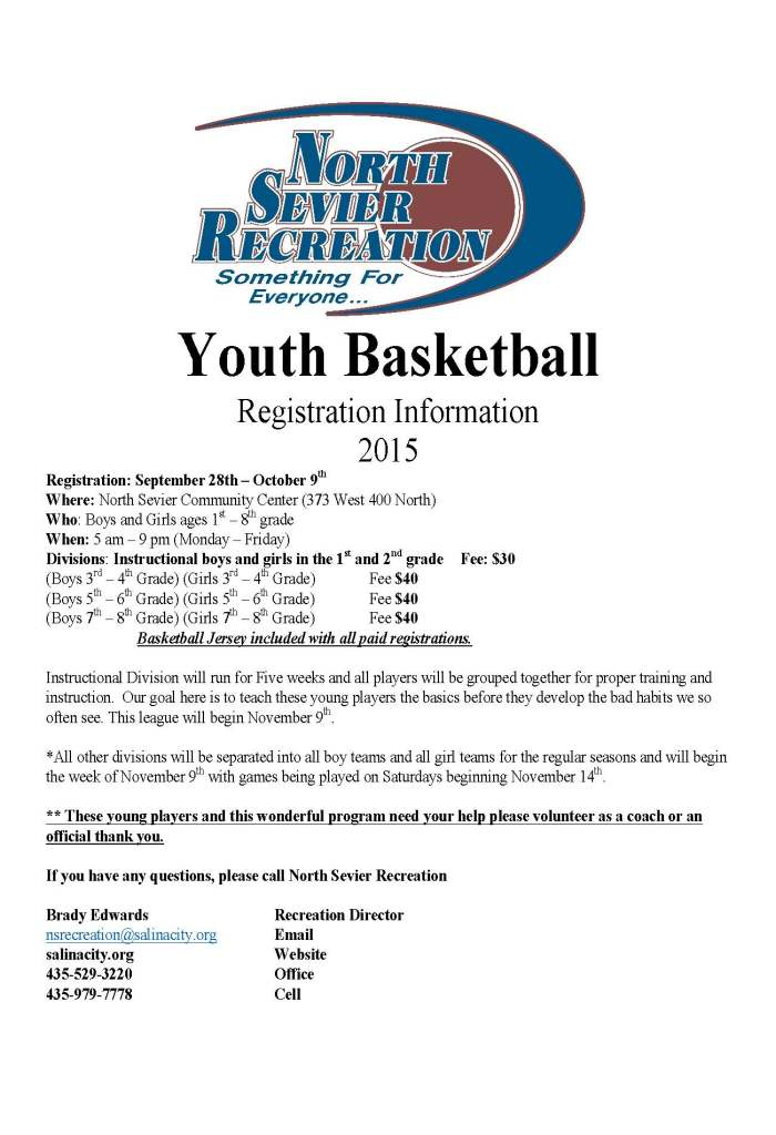 Youth Basketball 2015