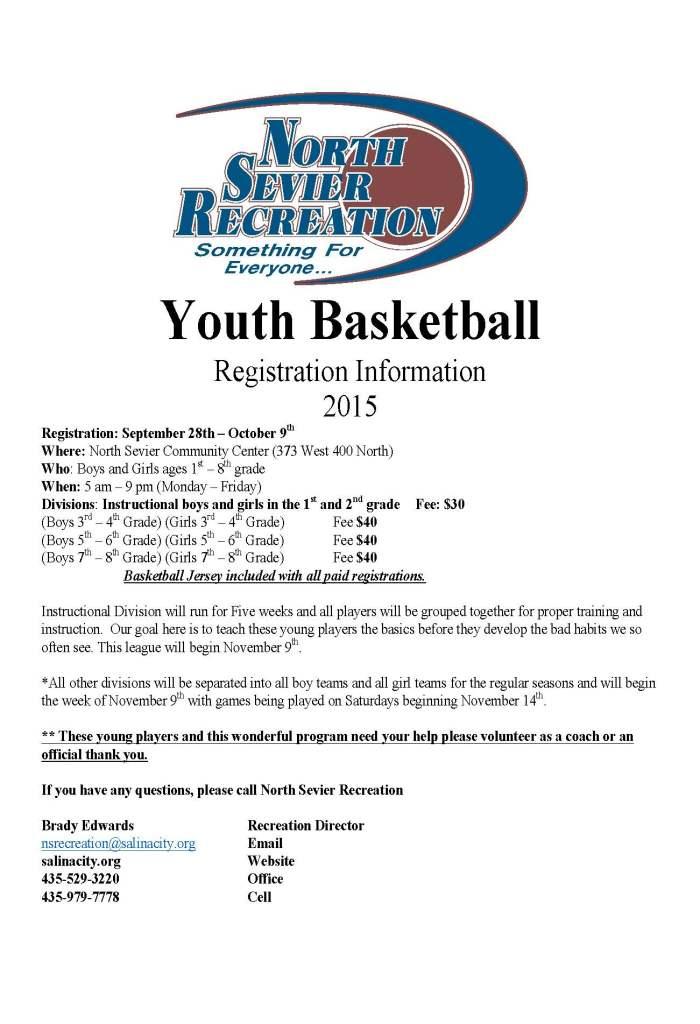 Youth Basketball 2015