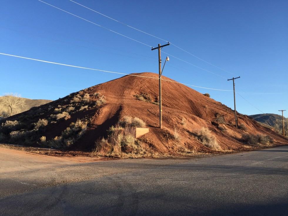 The Red Hill in Salina Utah Photo Credit: Kirk D Rasmussen