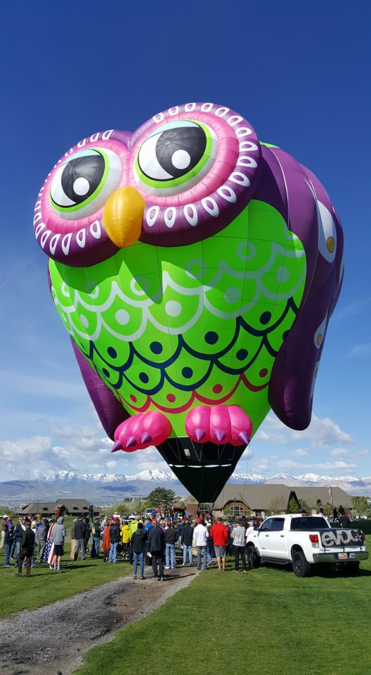 A new balloon will debut at the Eyes to the Sky Balloon Festival