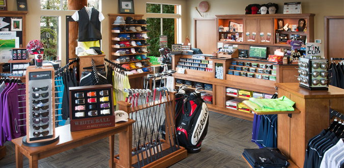 Salish Cliffs Golf Club   Golf Shop Golf Shop