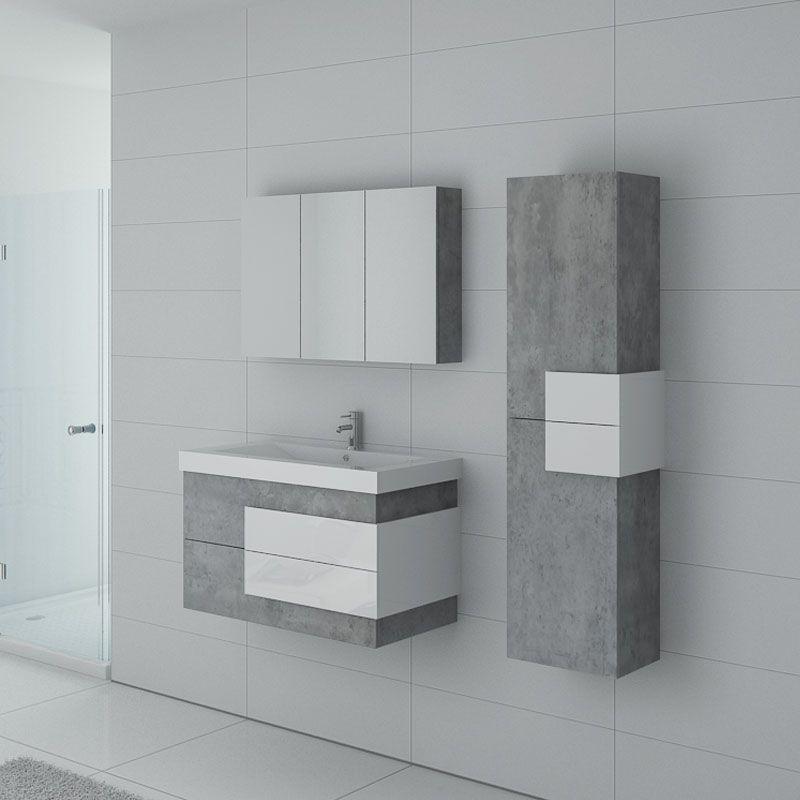 meuble sous vasque pour salle de bain 90 cm meuble simple vasque 90 cm arcola