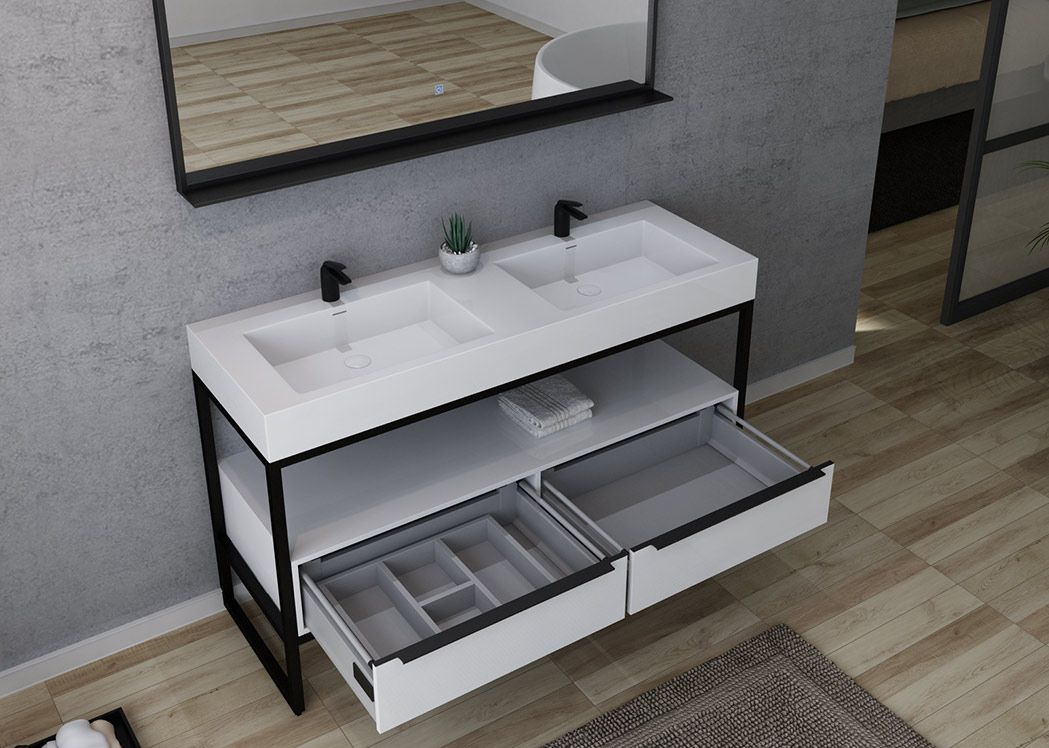 meuble de salle de bain style