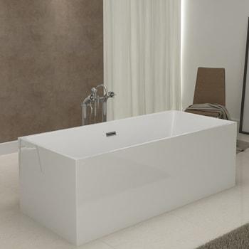 baignoire ilot rectangulaire ronde