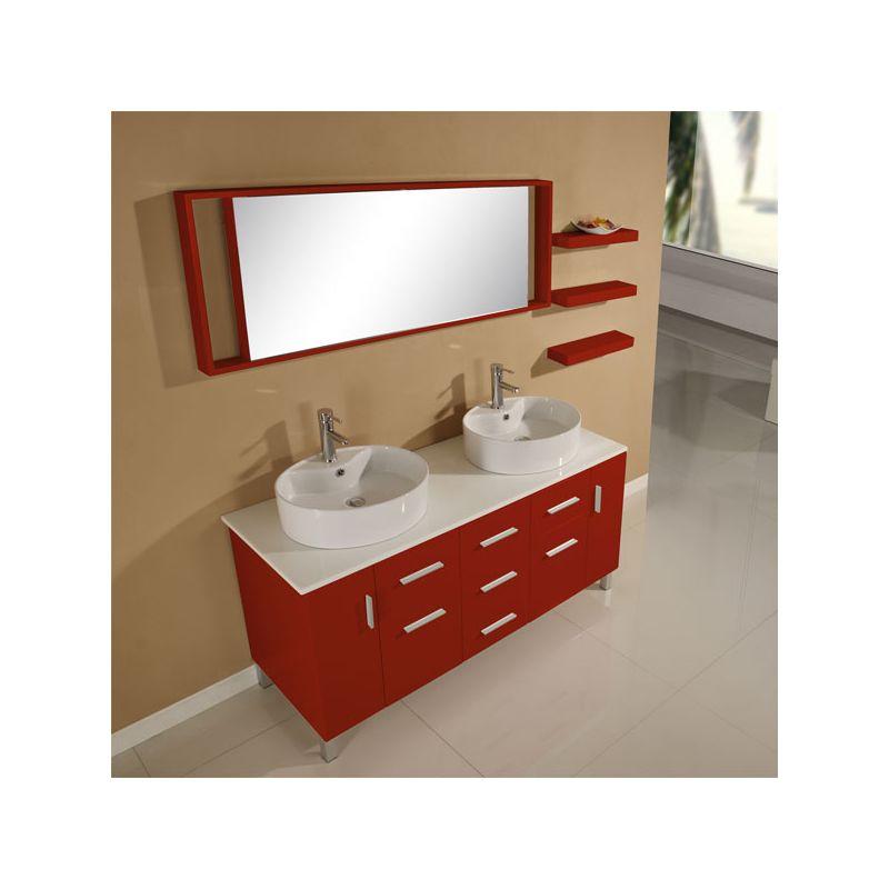 ensemble meuble salle de bain meuble de salle de bain 2 vasques effet beton dis911bt salledebain com