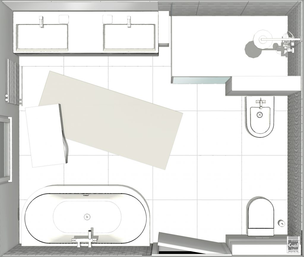 Exemple De Plans De Grandes Salles De Bain Avec Image 3D