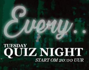 Quiz Night in Sally O'Briens
