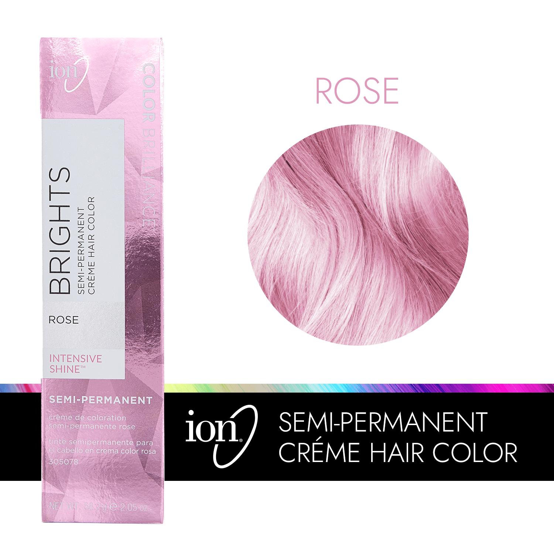 Ion Color Brilliance Semi Permanent Brights Hair Color Rose