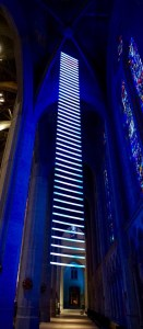 Jacob's Ladder installation at Grace Cathedral, San Francisco