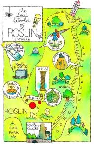 roslin map