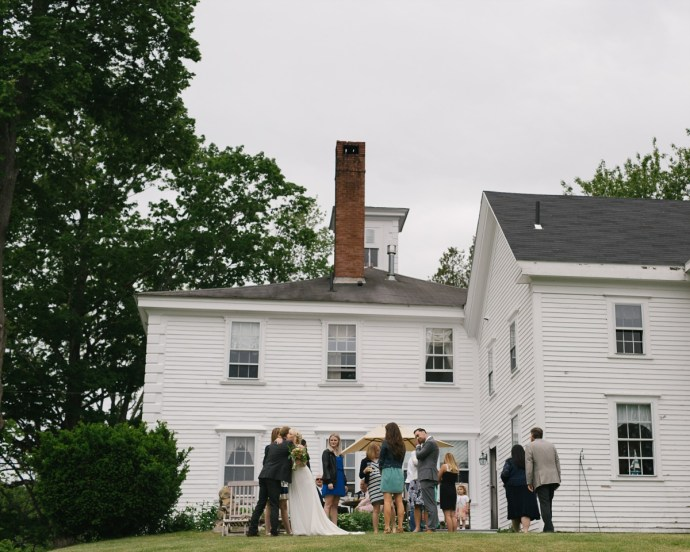 Charming Bed and Breakfast Wedding at the 1774 Inn in Maine