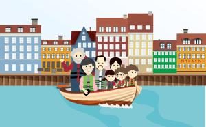"""Boglancering """"Sally og Charlie på eventyr i København"""" den 15. november 2019"""