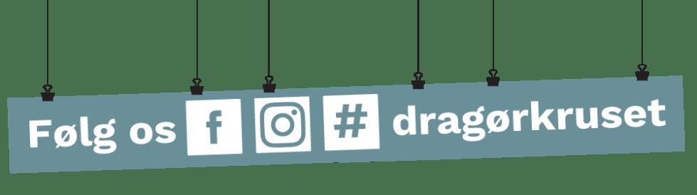 Følg os på de sociale medier