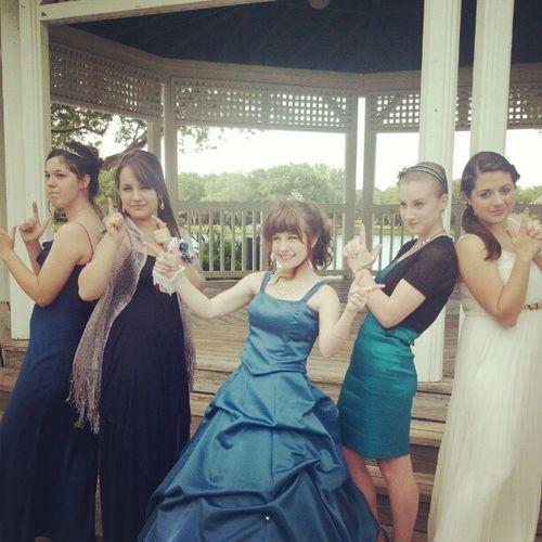 Cora+girls gala