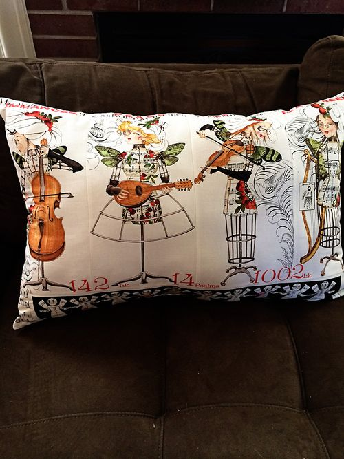 Angel band pillow 2