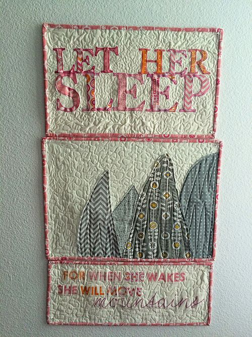 Let her sleep triptych 9