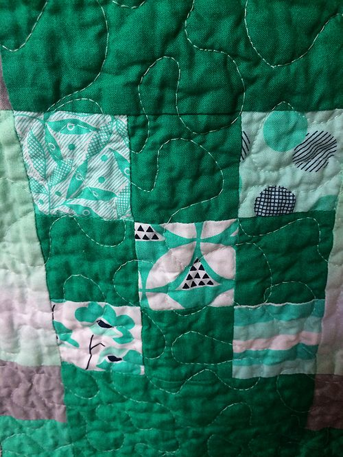 Color theory quilt 9