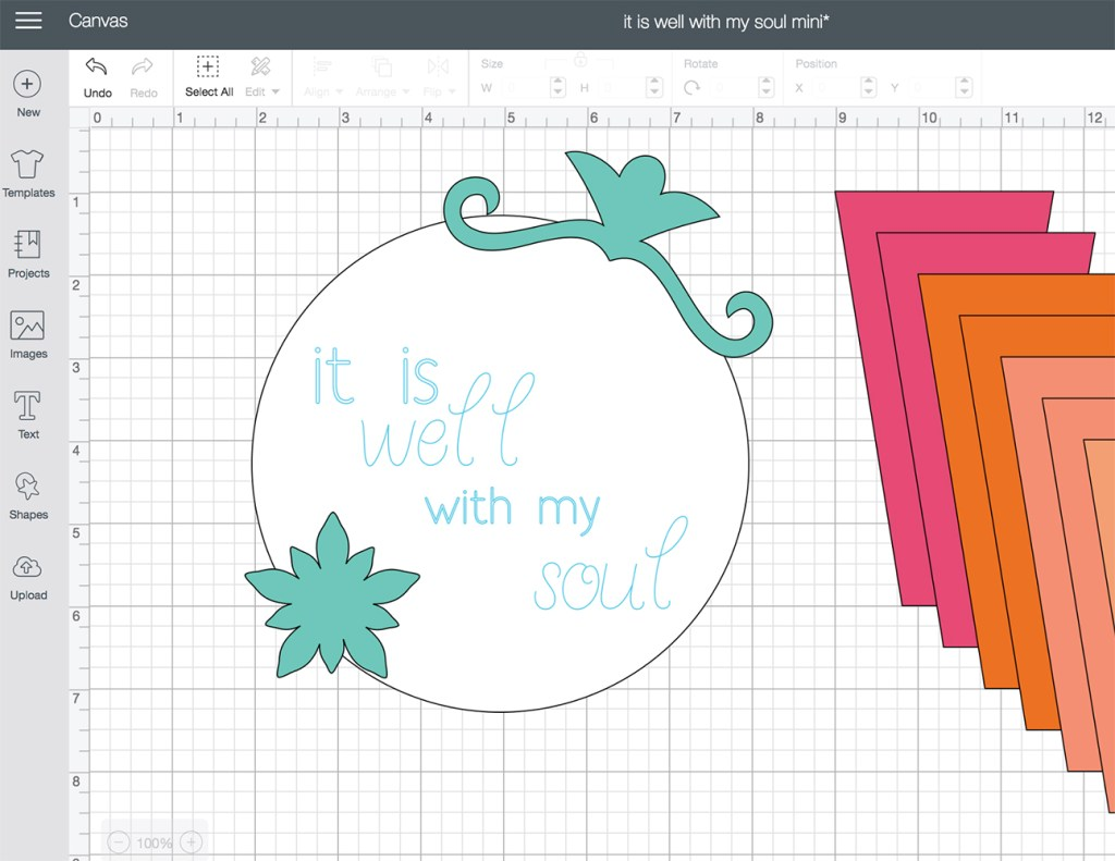 FREE Mini Quilt Pattern – the fabulous Cricut Maker at work