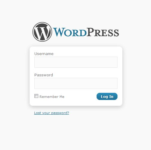 wordpress login area - digital marketing - salman gul