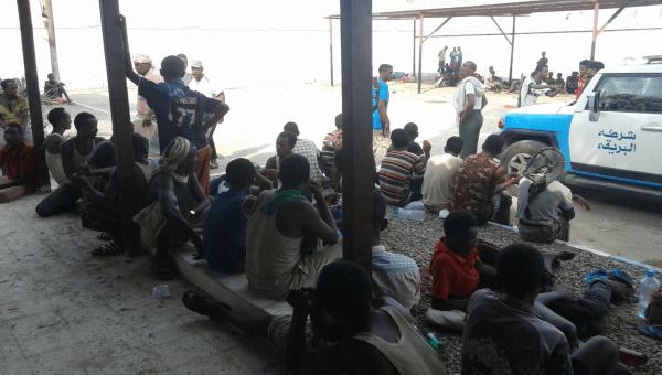 وباء الكوليرا ينتشر بين اوساط المحتجزين الأفارقة في عدن