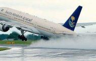نجاة 127 راكبا من موت محقق على متن طائرة للخطوط السعودية  !!