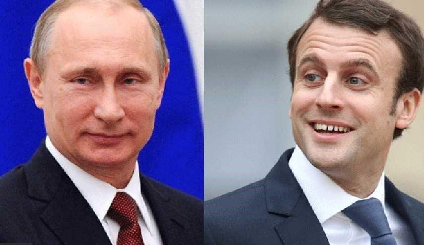 أول اتصال هاتفي بين بوتين وماكرون..ماذا دار بين الرئيسين؟