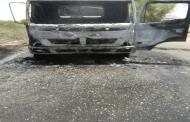 مسلحي القاعدة يحرقون شاحنة نقل مياة تابعة للواء 115 بلودر