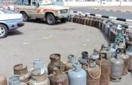 شركة الغاز الخاضعة للحوثيين تستورد 4.620الاف طن متري من الغاز المنزلي بعد امتناع حكومة هادي تزويد محطاتهم بالغاز