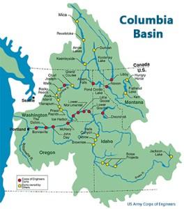 hydro columbia dams basin