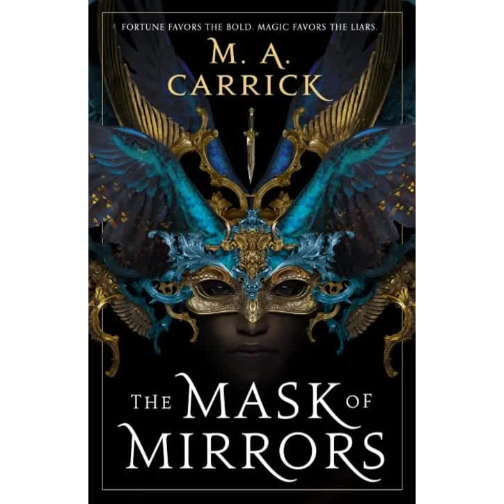 "Cover for ""The Mask of Mirrors"""