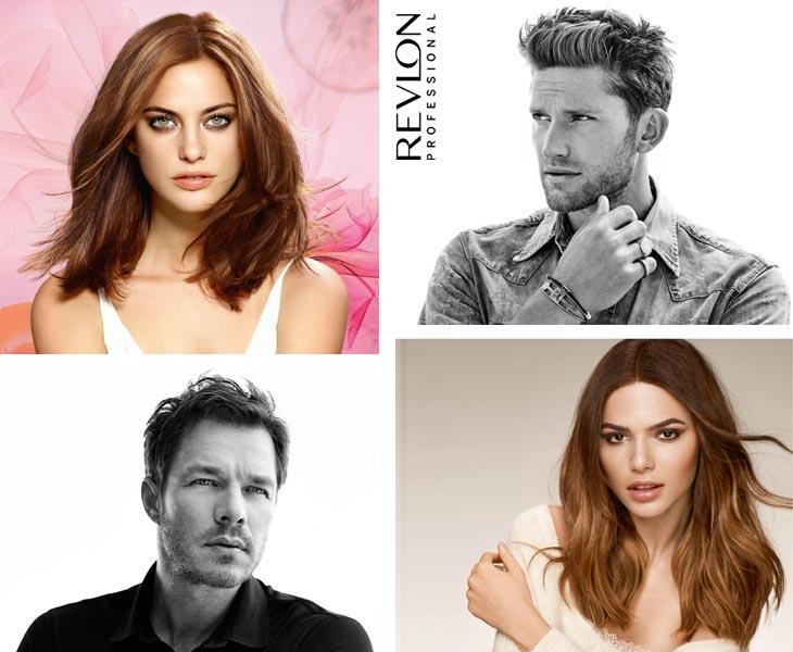 modèles de coiffure professionnelle REVLON