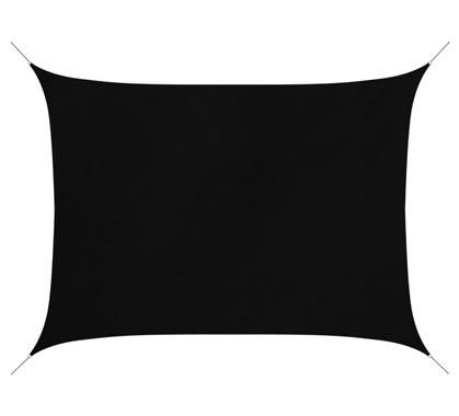 voile d ombrage rectangulaire 4x3 m gris 180g m2 voile rectangulaire